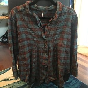 5/$25 Free People Button Down
